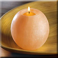 Natural Salt Tealight Holder