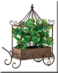Nostalgic Cart with Greenery