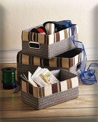 Neutral Basket Trio