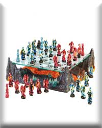 Color Dragon Chess Set