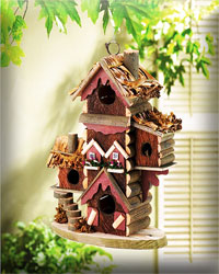 Gingerbread Styled Birdhouse