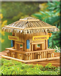 Wood Beachcombers Birdhouse