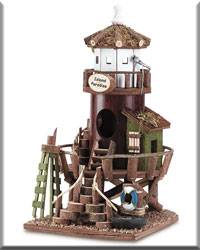Lighthouse Station Birdhouse