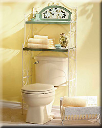 Magnolia Bathroom Shelf