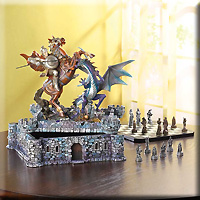 Timeless Dragon Chess Set