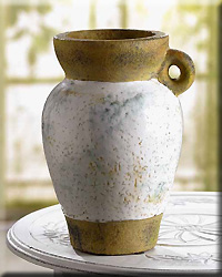 Distressed One Handled Vase