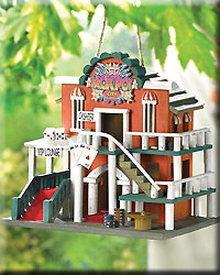 Jackpot City Birdhouse