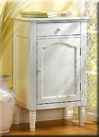 Graceful Antique Style Cabinet