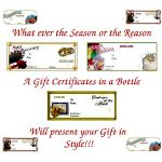 Personal and Corporate Gift Certificates